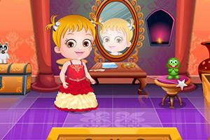 可爱宝贝变身美公主