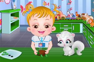 可爱宝贝认识小动物