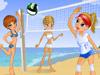 沙滩排球女孩