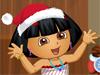 朵拉圣诞新装