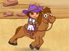 朵拉骑马训练