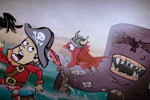 恐怖食人鱼海盗版