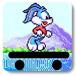宾尼兔滑板跑酷