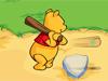小熊维尼棒球训练