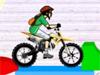 积木世界自行车特技