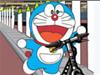 哆啦A梦自行车骑行