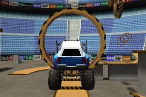 3D大脚车特技挑战