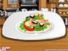 制作海鲜沙拉