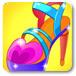 灰姑娘漂亮的水晶鞋