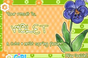 测试你是哪种花?
