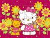 凯蒂猫与泰迪熊拼图